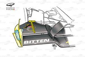 Переднее антикрыло Jordan EJ11