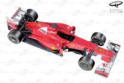Ferrari F2012 3/4 view