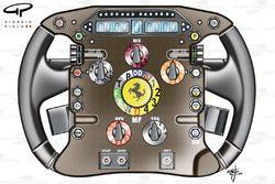 Ferrari F10 steering wheel
