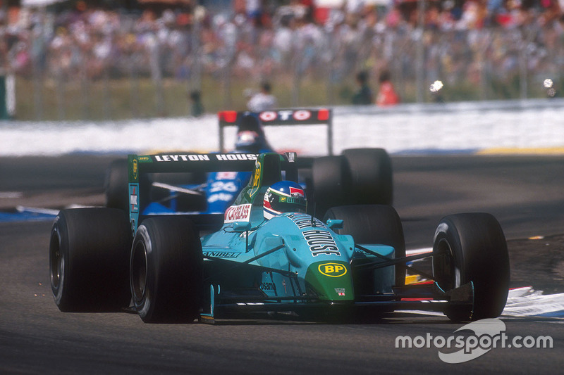 Leyton House CG901 y Williams FW14