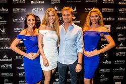 Nico Rosberg, Mercedes AMG F1 et sa femme Vivian Rosberg