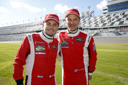 Giancarlo Fisichella and Toni Vilander