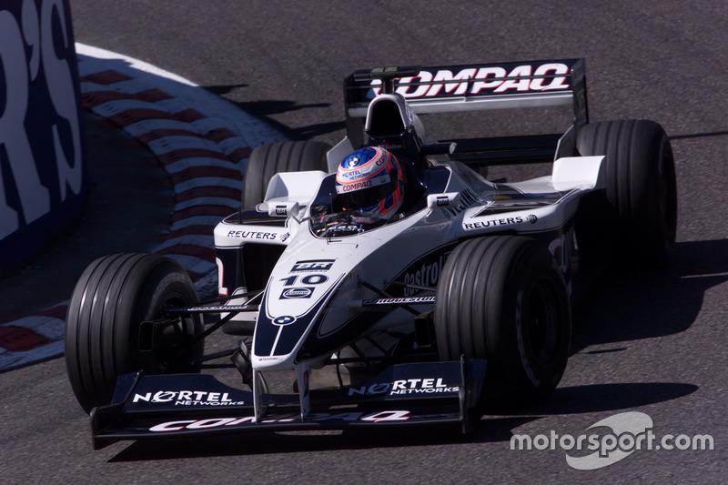 Rookie de l'année 2000 : Jenson Button
