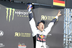 Winnaar Mattias Ekström, EKS RX
