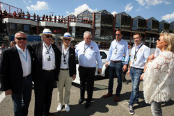 Marcello Lotti, CEO TCR International with guests