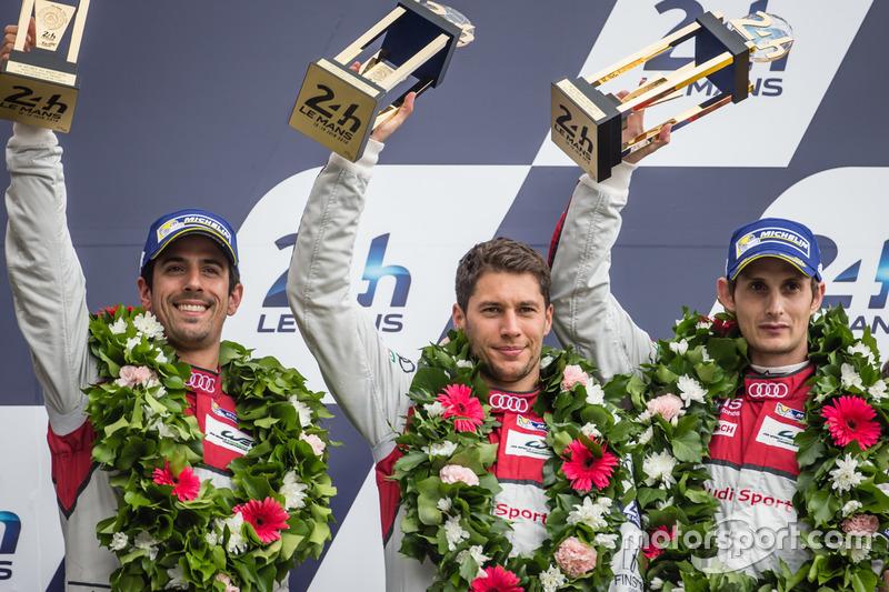 2016 - WEC - Vice Campeão e 3º em Le Mans (Audi)