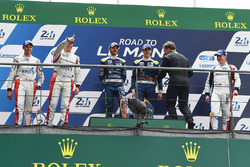 PodioLMP3: ganadoresThomas Laurent, Alexandre Cougnaud, DC Racing, segundo lugarMartin Brundle, Chri