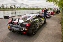 #12 Ferrari of Central Florida Ferrari 458: Chuck Quinton
