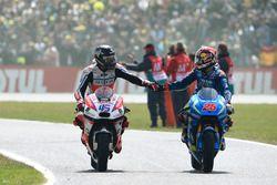 Scott Redding, Pramac Racing, et Maverick Viñales, Team Suzuki MotoGP