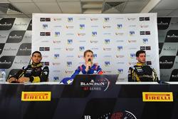 Conférence de presse : Egor Orudzhev, Arden Motorsport, Roy Nissany, Lotus, Rene Binder, Lotus