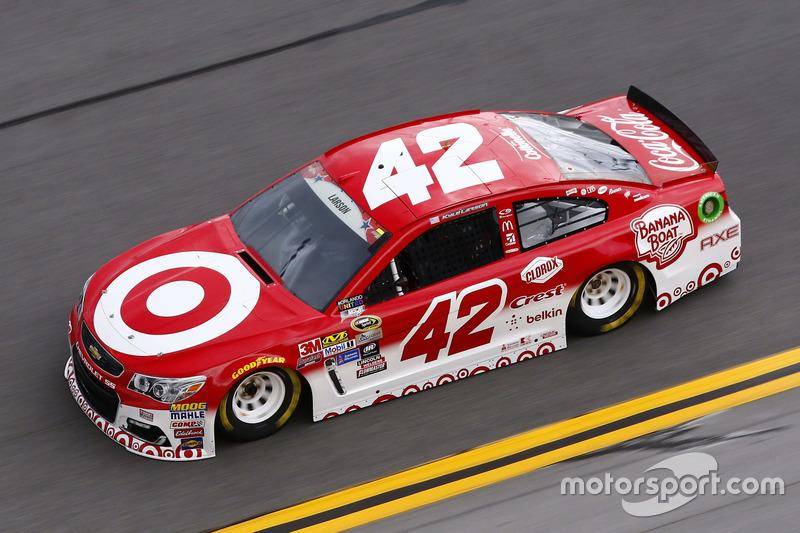 #16: Kyle Larson (Ganassi-Chevrolet)