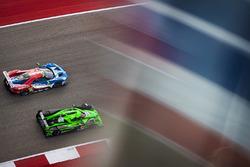 #66 Ford Chip Ganassi Racing Team UK Ford GT: Olivier Pla, Stefan Mücke, #30 Extreme Speed Motorspor