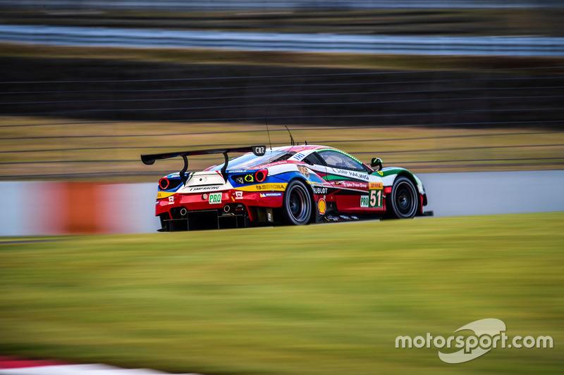 3. LMGTE Pro: #51 Ferrari 488 GTE: Gianmaria Bruni, James Calado