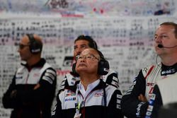 Toyota Racing garage atmosphere
