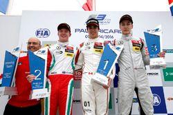 Podium: Winner Lance Stroll, Prema Powerteam Dallara F312 – Mercedes-Benz; second place Nick Cassidy, Prema Powerteam Dallara F312 – Mercedes-Benz; third place George Russell, HitechGP Dallara F312 – Mercedes-Benz