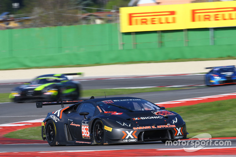 #963 X-Bionic Racing Team Lamborghini Huracan GT3: Laurent Jenny, Cédric Leimer