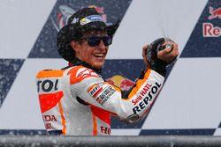 Podium: Race winnaar Marc Marquez, Repsol Honda Team, Honda