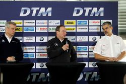 Press conference: Jens Maquardt, BMW Motorsport Director, Ullrich Fritz, Team Principal Mercdes AMG;
