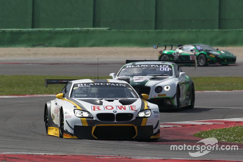 Philipp Eng, Alexander Sims, BMW M6 GT3, Rowe Racing