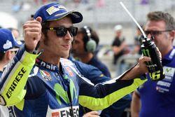Derde kwalificatietijd voor Valentino Rossi, Yamaha Factory Racing