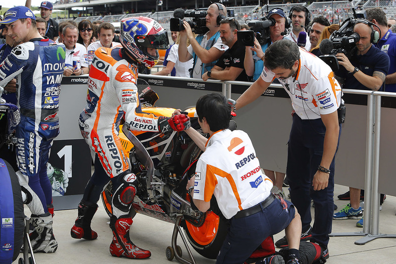 Polesitter Marc Marquez, Repsol Honda Team