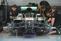 Mercedes AMG F1 Team W07, Frontpartie