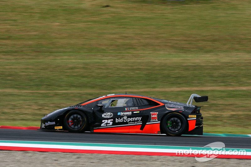 Lamborghini Hurancan #25, Agostini-Di Folco, Antonelli Motorsport