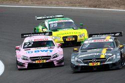 Paul Di Resta, Mercedes-AMG Team HWA, Mercedes-AMG C63 DTM; Lucas Auer, Mercedes-AMG Team Mücke, Mer