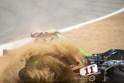 Saeed Al Sulaiti, Pedercini Racing cade al cavatappi