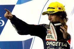Podium: winnaar Niccolò Antonelli, Ongetta-Rivacold, Honda