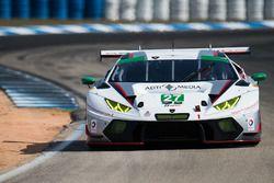 #27 Dream Racing Lamborghini Huracan GT3: Paolo Ruberti, Fabio Babini, Luca Persiani, Cedric Sbirraz