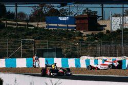 Crash Sergey Sirotkin, ART Grand Prix