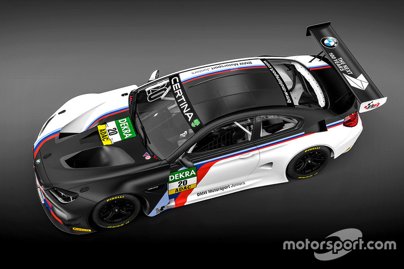 The BMW M6 GT3 for the BMW Motorsport Juniors, Schubert