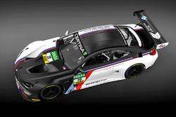 The BMW M6 GT3 for the BMW Motorsport Juniors, Schubert Motorsport