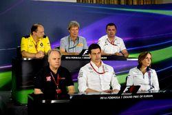 Frédéric Vasseur, Renault Sport F1 Team, Roberto Boccafogli , Pirelli, Eric Boullier, McLaren , Gene