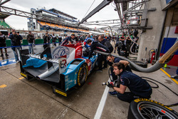 Тренировка пит-стопа Виталий Петров, Кирилл Ладыгин, Виктор Шайтар, #37 SMP Racing BR01 - Nissan