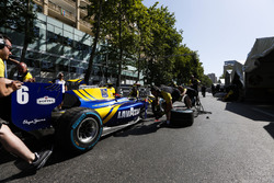 DAMS practice a pitstop
