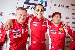 #83 AF Corse,Ferrari 458 Italia: Emmanuel Collard, François Perrodo, Rui Aguas
