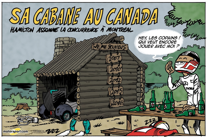 GP du Canada - Sa cabane au Canada