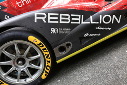 #13 Rebellion Racing Rebellion R-One AER detail