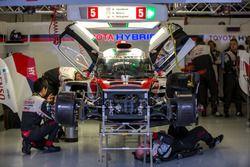 Abandon précoce pour la #5 Toyota Racing Toyota TS050 Hybrid: Sébastien Buemi, Kazuki Nakajima