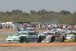 Agustin Canapino, Jet Racing Chevrolet, Sergio Alaux, Coiro Dole Racing Chevrolet