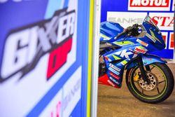 Suzuki Gixxer Cup race bike