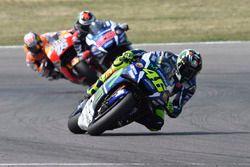 Valentino Rossi, Yamaha Factory Racing, Jorge Lorenzo, Yamaha Factory Racing, Dani Pedrosa, Repsol Honda Team