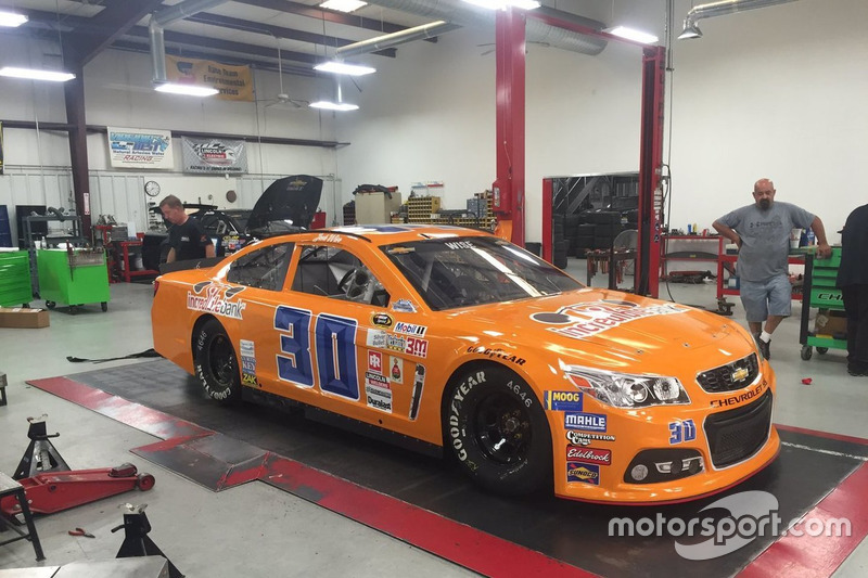 Throwback-Design von Josh Wise, The Motorsports Group, Chevrolet