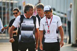 Fernando Alonso, McLaren con Edoardo Bendinelli, Entrenador Personal
