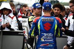 Обладатель поула - Кэл Кратчлоу, Team LCR Honda, третье место - Маверик Виньялес, Team Suzuki MotoGP