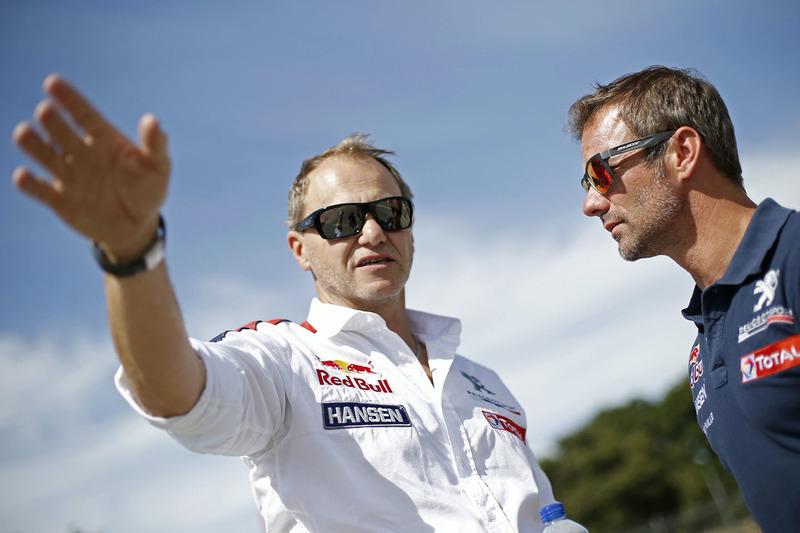 Sébastien Loeb, Team Peugeot Hansen and Kenneth Hansen