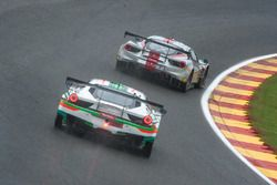 #55 AT Racing, Ferrari 488 GT3: Pieguiseppe Perazzini, Thomas Flor, Marco Cioci, Francesco Castellac