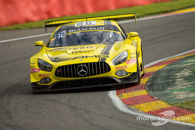 5. #86 AMG-Team HTP Motorsport, Mercedes-AMG GT3